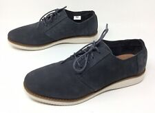 Men's TOMS Preston Slate Gray Nubuck Casual Lace Up Dress Oxfords Shoes Sz. 12