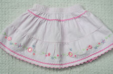Cotton Blend Floral Skirts (0-24 Months) for Girls