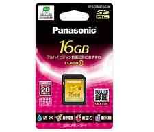 Panasonic Japan 16GB SDHC Memory Card CLASS10 RP-SDWA16GJK