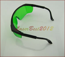 Green Safety Glasses Goggles For 600nm-750nm Orange Red Laser pointer