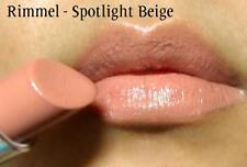 RIMMEL MOISTURE RENEW LIPSTICK SPF 18 620 spotlight beige NEW