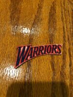 GOLDEN STATE WARRIORS IRON ON PATCH HOME COLOR RETRO 09'-10' SEASON