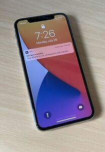 Unlocked Apple iPhone X - 64GB - White - Left Side Touch Screen Not Working