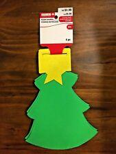 "Creatology Foam Shape Christmas Tree Craft 8.5"" x 6"" 4pc New"