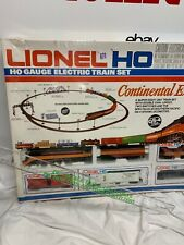 Vintage Lionel Ho continental Express electric train set from 1977 SEALED RARE