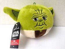 Star Wars Hallmark YODA fluff balls Christmas Ornament - NEW