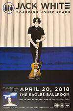 Jack White Nonutographed Concert Canvas