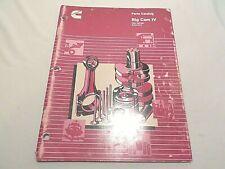 Cummins Engine Parts Catalog Big Cam IV Fleet 285/300 Automotive OEM 1990