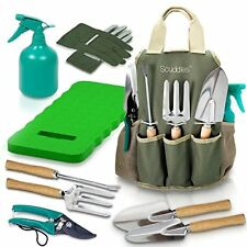 Garden Tool Set Gardening Bag Accessories KIt Kneeling Pad Digging Tools