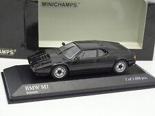 Minichamps 1/43 - BMW M1 Nero