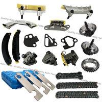 Timing Chain Kit With Tool Fit Buick Cadillac CTS SRX STS Saab 9-3 Suzuki