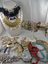 23 Pc Signed Necklace Bracelet Jewelry Lot JCrew Zinzii Madewell American Eagle