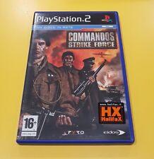 Commandos Strike Force GIOCO PS2 VERSIONE ITALIANA