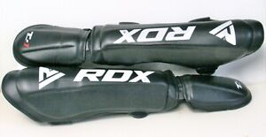 NEW black RDX MMA / Martial Arts shin guards size large
