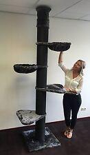 Kratzbaum große katze XXL Maine Coon Tower Blackline Stämme 20cm Ø RHRQuality