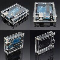 Transparent Acrylic Computer Case Cover Shell Enclosure For Arduino UNO R3 MA
