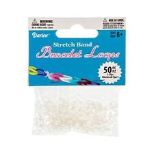 Darice Bracelet Loops S-Clips, Pack of 50, Transparent