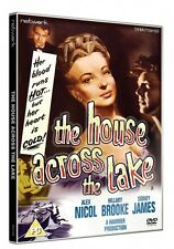 THE HOUSE ACROSS THE LAKE. Alex Nicol, Sid James. New sealed DVD.