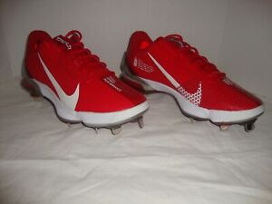 New Mens Nike CQ7224-600 Force Zoom Trout Pro 7 Metal Low Baseball Cleats Size 8