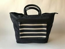 JAS M.B. London, Unisex, Large Shopper in Navy Textured Leather