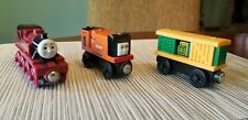 Thomas and Friends Wooden Railway Trains Lot of 3 from 2003