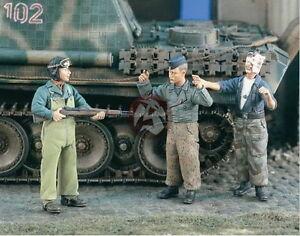 Verlinden 1/35 VP 1971 US Soldat nimmt 2 deutsche Panzermänner gefangen