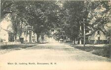 Boscawen New Hampshire C-1910 Main Street North James undivided postcard 1875