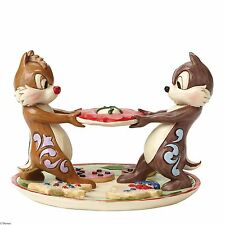 Disney Traditions Chip & Dale Christmas Figurine  NEW IN BOX