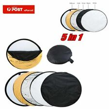 "80cm 32"" 5 in 1 Photo Studio Photography Light Mulit Collapsible Reflector Z4N6"
