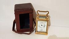 Pendule d'Officier sonnerie - Taille rare - pendulette voyage - carriage clock