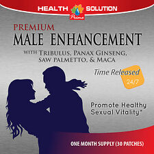 Male Enhancer - Male Enhancement Patches Testosterone Booster - 30 Patches