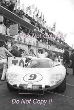 Phil Hill & Jo Bonnier Chaparral 2D Le Mans 1966 Photograph 2