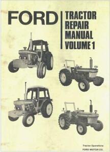 Ford 10 series all models 2 volumes Dealers  Workshop Manual