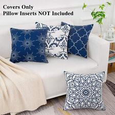 4x Funda de almohada cuadrada para el sofá del coche Decoración del hogar Sala