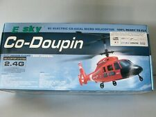 E SKY 000008 RC ELECTRIC CO-AXIAL MICRO HELICOPTER CO-DOUPIN RTF
