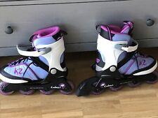 inline skates, K2 Mädchen Candence Jr Girl, Grösse L 35 - 40, Verstellbar