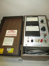 Hubbell Hipotronics Megohmeter Model HVM10-A  CS16-117