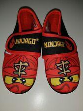 Ninjago Lizenz Hausschuhe Kinderschuhe Schlappen Lego Ninjago Größe 25//26