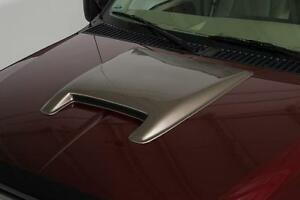 """Large Smooth Hood Scoop (25""""x28""""x2"""") for 1999 - 2007 Ford F450 Super Duty Lariat"""