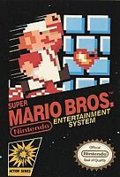 Super Mario Bros. (Nintendo Entertainment System, 1985) Game Only NES