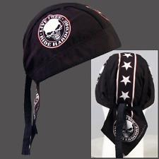 RIDE HARDCORE SKULL BIKER CAP HEAD WRAP