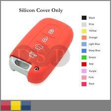 Silicone Cover fit for HYUNDAI KIA Smart Remote Key Case 4 BTN Hollowed 9104PK