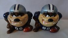 Dallas Cowboy 1994 Tasmanian Devil NFL Football Salt And Pepper #J54.