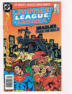 Justice League Of America #221 FN DC Comics Comic Book Superman 1984 DE29
