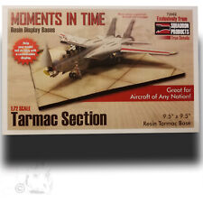 """TRUE DETAILS 1/72 """"TARMAC SECTION"""" RESIN AIRFIELD DISPLAY BASE 9.5""""x9.5"""" 72002"""