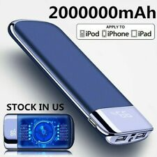 New 2000000mAh Power Bank Portable External Battery Huge Capacity Fast Charger