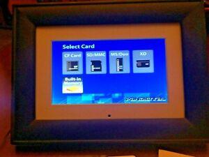 Pandigital 6'' LED Digital Photo Frame PAN602-B
