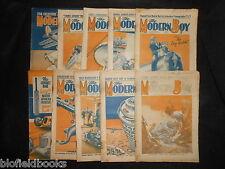 W E JOHNS - Mountain of Light/Biggles Hits The Trail - 1935-1st - 10 Part Set