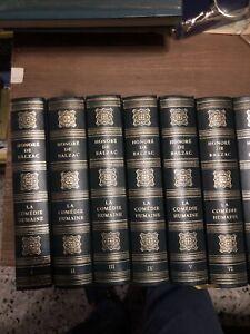 Livre Honoré De Balzac Collection Complete De 24Livres ( La Comédie Humaine )