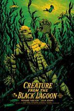 Clee Sobieski PRINT Horror Seahorse Creature From The Black Lagoon Halloween